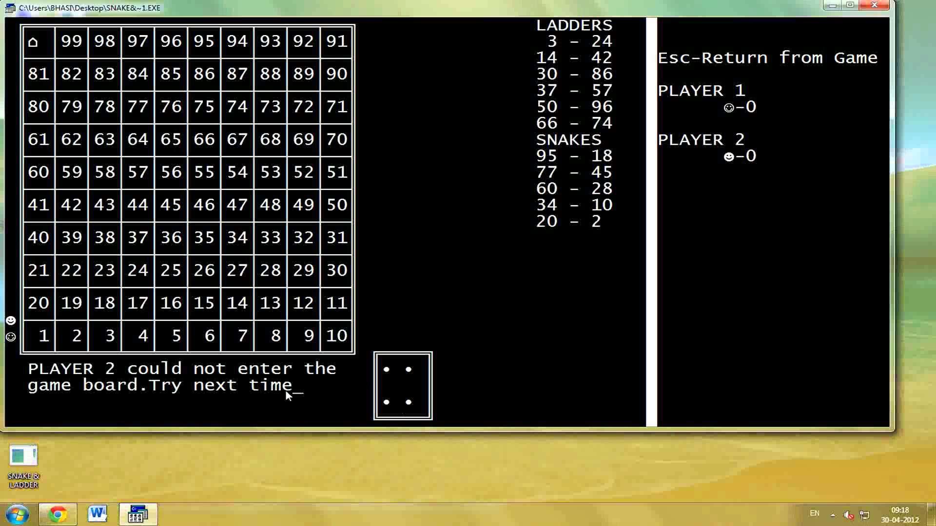 Snake Game C Code Download