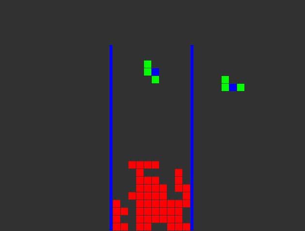 tetris game c++