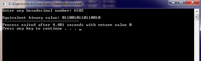 C Program to Convert Binary Number to Decimal and vice-versa