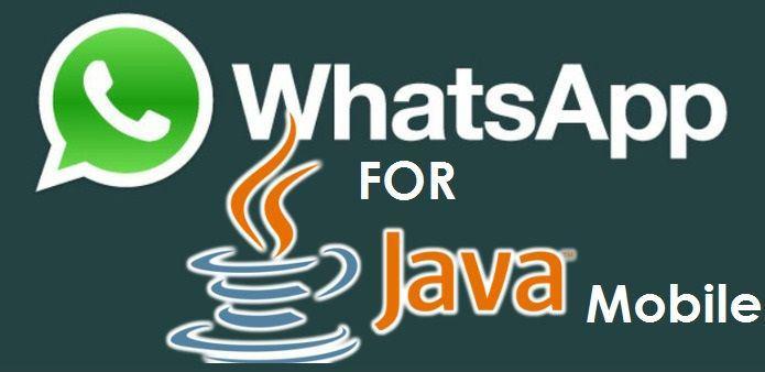 install whatsapp on java phones