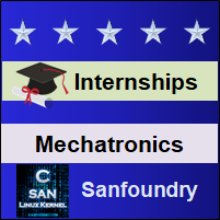 Bangalore Internships - Mechatronics Engineering