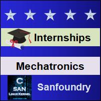 Bangalore Internships - Mechatronics Engineering